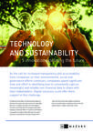 Technology and Sustainability - five innovations defining the future